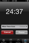 iPhone Timer (built-in app)