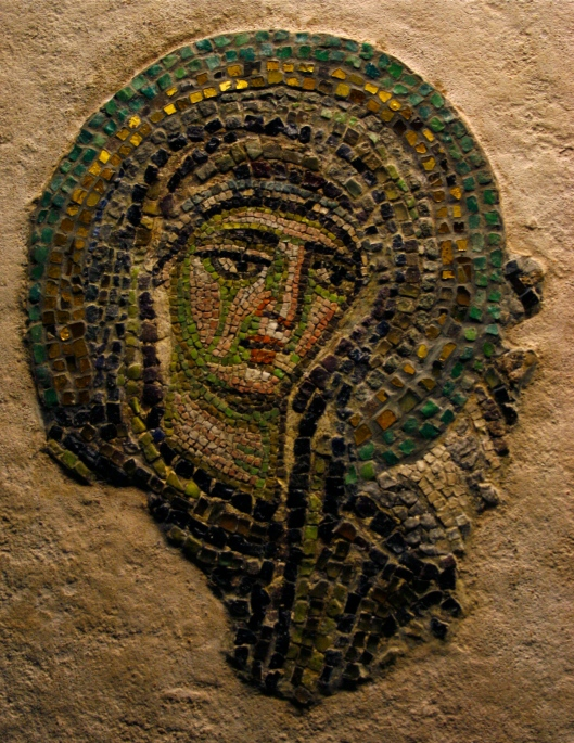 Virgin  from the Studios Monastery, late 10C, Constantinople