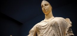 Aphrodite, once the centrepiece of the Getty's collection, now returned to Italy
